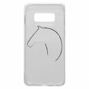 Phone case for Samsung S10e Print - horse