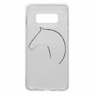 Etui na Samsung S10e Nadruk - koń