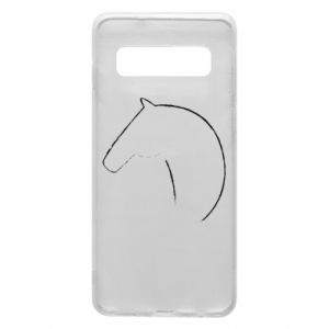 Phone case for Samsung S10 Print - horse