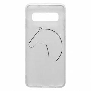 Etui na Samsung S10 Nadruk - koń