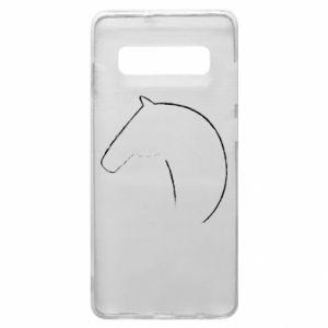 Etui na Samsung S10+ Nadruk - koń