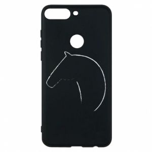 Phone case for Huawei Y7 Prime 2018 Print - horse - PrintSalon