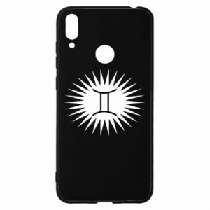 """Huawei Y7 2019 Case Print with an inscription """"Twins"""""""