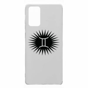 """Samsung Note 20 Case Print with an inscription """"Twins"""""""