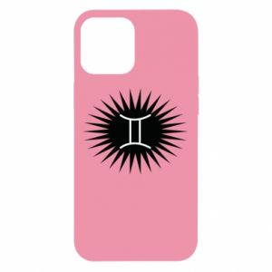 """iPhone 12 Pro Max Case Print with an inscription """"Twins"""""""