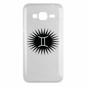 "Samsung J3 2016 Case Print with an inscription ""Twins"""