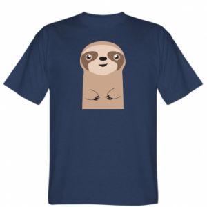 T-shirt Naive sloth
