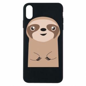 Etui na iPhone Xs Max Naive sloth