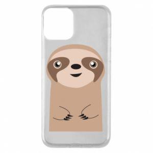Phone case for iPhone 11 Naive sloth - PrintSalon