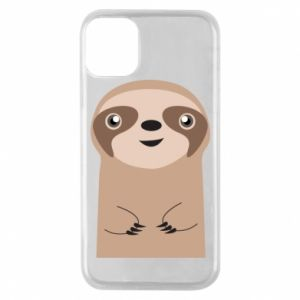 Phone case for iPhone 11 Pro Naive sloth - PrintSalon