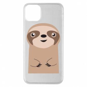 Phone case for iPhone 11 Pro Max Naive sloth - PrintSalon