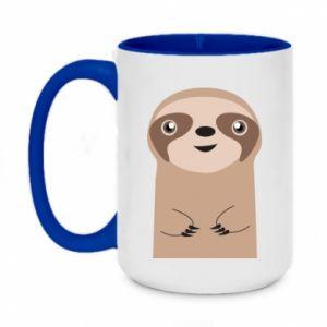 Kubek dwukolorowy 450ml Naive sloth