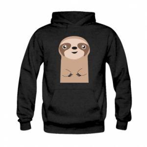Bluza z kapturem dziecięca Naive sloth