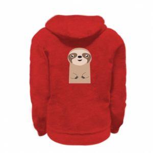 Bluza na zamek dziecięca Naive sloth