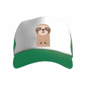 Czapka trucker dziecięca Naive sloth