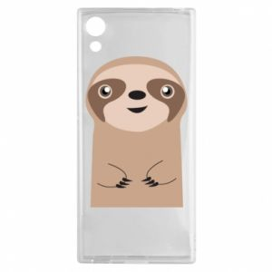 Etui na Sony Xperia XA1 Naive sloth