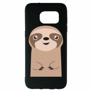 Etui na Samsung S7 EDGE Naive sloth
