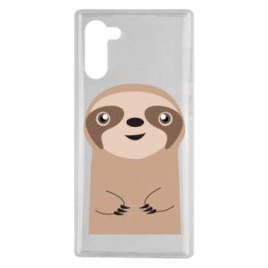Etui na Samsung Note 10 Naive sloth