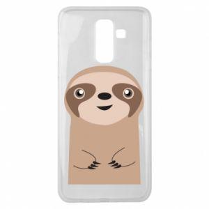 Etui na Samsung J8 2018 Naive sloth