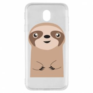 Etui na Samsung J7 2017 Naive sloth