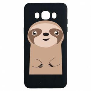 Etui na Samsung J7 2016 Naive sloth