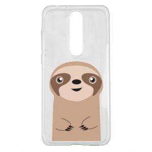 Etui na Nokia 5.1 Plus Naive sloth