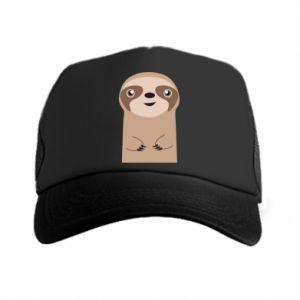 Trucker hat Naive sloth - PrintSalon