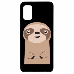 Etui na Samsung A41 Naive sloth