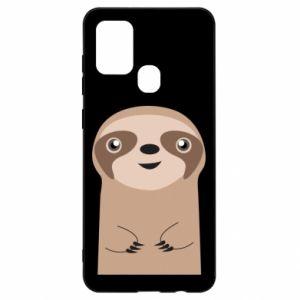 Etui na Samsung A21s Naive sloth