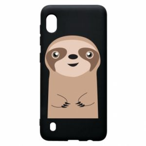 Etui na Samsung A10 Naive sloth