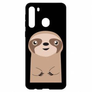 Etui na Samsung A21 Naive sloth