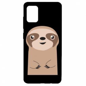 Etui na Samsung A51 Naive sloth