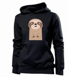 Women's hoodies Naive sloth - PrintSalon