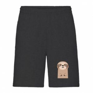 Men's shorts Naive sloth - PrintSalon