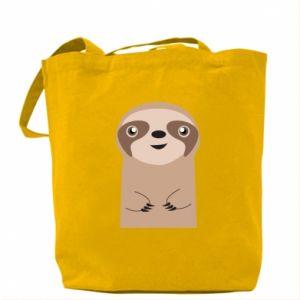 Bag Naive sloth - PrintSalon