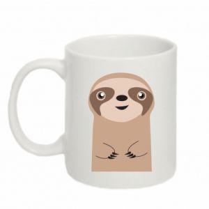 Mug 330ml Naive sloth - PrintSalon