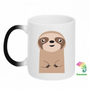 Kubek-kameleon Naive sloth