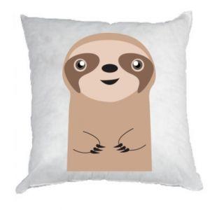 Pillow Naive sloth - PrintSalon
