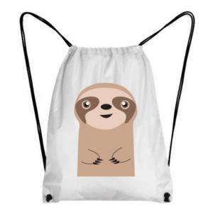 Backpack-bag Naive sloth - PrintSalon