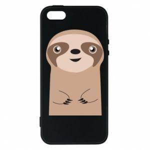 Phone case for iPhone 5/5S/SE Naive sloth - PrintSalon