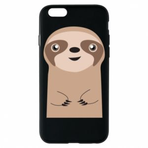 Phone case for iPhone 6/6S Naive sloth - PrintSalon