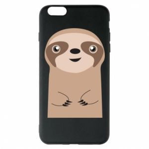 Phone case for iPhone 6 Plus/6S Plus Naive sloth - PrintSalon