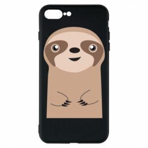 Phone case for iPhone 7 Plus Naive sloth - PrintSalon