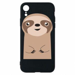 Etui na iPhone XR Naive sloth