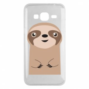 Phone case for Samsung J3 2016 Naive sloth - PrintSalon