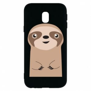 Phone case for Samsung J3 2017 Naive sloth - PrintSalon