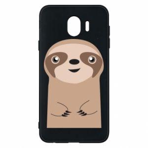 Phone case for Samsung J4 Naive sloth - PrintSalon