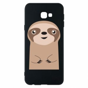 Phone case for Samsung J4 Plus 2018 Naive sloth - PrintSalon