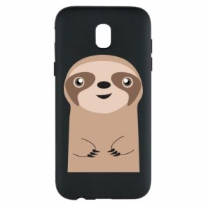Phone case for Samsung J5 2017 Naive sloth - PrintSalon