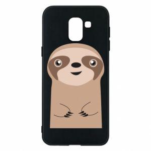 Phone case for Samsung J6 Naive sloth - PrintSalon